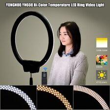 YONGNUO YN608 LED Ring Video Light 3200K-5500K for Canon Nikon SLR Camera Selfie