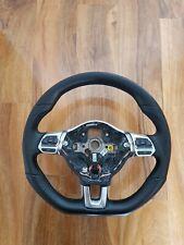 VW MULTI FUNCTIONAL FLATBOTTOM STEERING WHEEL SCIROCCO MK6 GOLF GTI GTD R
