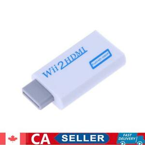 Wii to HDMI-compatible Adapter Converter Support 720P 1080P 3.5mm Audio for
