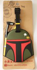Disney Star Wars Jango Fett PVC Kids Schoolbag Baggage Suitcase Luggage Tags
