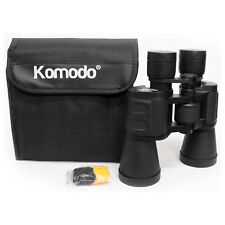 Komodo High Power 10x50 Binoculars Coated Lenses Porro Hunting Bird Watching New