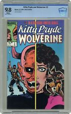Kitty Pryde and Wolverine #2 CBCS (not CGC) NM/MT 9.8 1st Ogun in Mask Costume