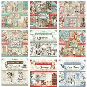 Stamperia - 12x12 Paper Pad - INCLUDES NEW SEPTEMBER/CHRISTMAS 2021 DESIGNS