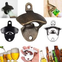 Wall Mounted Wine Beer Soda Glass Cap Bottle Opener Kitchen Bar Club Open Tool