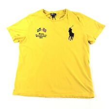 Vintage Polo Ralph Lauren Single Stitch T Shirt Big Pony Mens Large Brazil