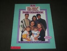 1992 D. J.'S FULL HOUSE FAMILY SCRAPBOOK MAGAZINE - GREAT PHOTOS - CW 1198