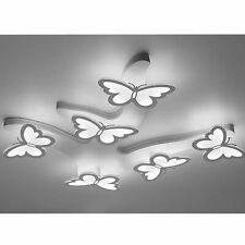 New ListingAcrylic 6 Butterfly Ceiling Light Modern Led Chandelier Bedroom Light Fixtures