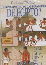DVD - Quien Construyo Las Piramides De Egipto ? NEW Egypt FAST SHIPPING !