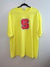 North Carolina NC State Wolfpack Safety Green Short Sleeve T-Shirt Size 3XL NWOT