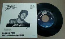 "Michael Jackson-Billie Jean/Beat- 7"" Single Mexican Record Promo Radio EPIC"