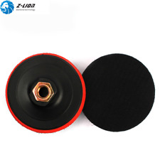 2PCS/Set 4 Inch Backing Pad M14 Diamond Polishing Pad Holder Backer for Polisher