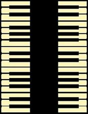 New Piano Music Room Instrument Novelty 4 X 6 Area Rug Carpet