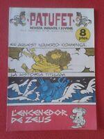 REVISTA MAGAZINE COMIC INFANTIL I Y JUVENIL PATUFET Nº 149 23 FEBRER 1973 ZEUS..