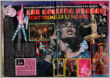 1977 DOCUMENT (TIH 063) GROUPE LES ROLLING STONES  2PAGES