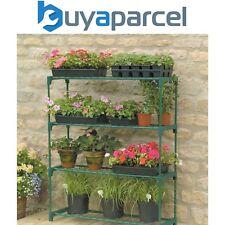 2 x Gardman Greenhouse Shed Storage Steel Shelving Shelves 08751