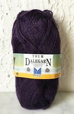 Dalegarn Dale of Norway Tiur Mohair Wool Yarn - Partial Skein Color Purple #5172