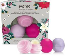 3 PC EOS Lip Balm Wildberry, Honey Apple, Passion Fruit Limited Quantity