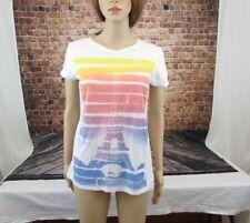 Delias Junior Women T Shirt Size Large Eiffel Tower