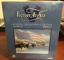 VICTORY AT SEA: SPECIAL COLLECTOR'S EDITION Volumes 1-6 VHS Set - Brand New!!