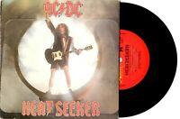 "ACDC AC/DC - HEATSEEKER / GO ZONE - 7"" 45 VINYL RECORD PIC SLV 1988"