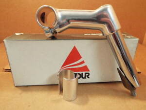 New-Old-Stock  Suntour XC Silver Quill Stem with 25.4 mm clamp (85 mm)