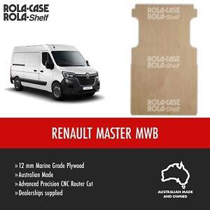 Renault Master MWB- Genuine Van Cargo Flooring Marine Grade 12mm Plywood CNC Cut