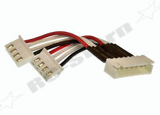 Lipo Balancer 6S JST-XH Buchse auf 2 x 3S Stecker - 5cm - JST - XH - neu