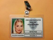 CSI Miami TV Show ID Badge - Calleigh Duquesne Prop cosplay costume