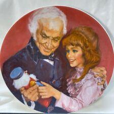"Vintage 1979 Viletta ""A Gift from Godfather"" Nutcracker Collector Plate Ltd Ed"
