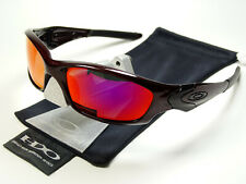 Oakley Straight Jacket 2.0 Blood Red Polarized Sonnenbrille Fuel Cell Pit Bull X