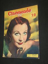 CINEMONDE 1952 N° 919 VIVIEN LEIGH