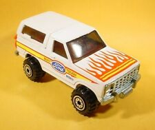 HOT WHEELS WHITE FORD BRONCO 4 WHEELER LOOSE