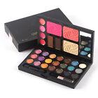 Eye Shadow Blush Lip Gloss Set Pro Cosmetic Palette Makeup Tools 21 Colors