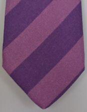 """Kiton Napoli Mens 7 Fold Handmade Wool Stripe Tie NEW 59"""" X 3.5"""" SKU B32/3 $350"""