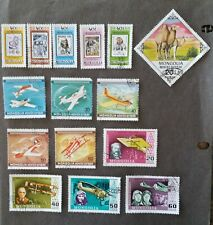 Lot of 46 Mongolia stamps Olympics, Animals, Space CTO