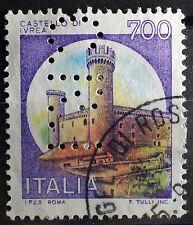 1980  ITALIA  Castelli 700 lire   PERFIN
