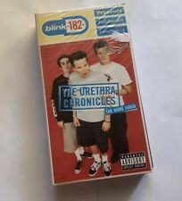 """BLINK-182 """"THE URETHRA CHRONICLES"""" RARE VHS 1999 EU OUT OF PRINT - NEW SEALED"""