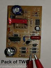 DC 12V 1 Amp Power Supply Board, SMPS 220 to 12 volt Adapter board PACK OF TWO