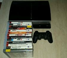 PLAY STATION 3 CON ACCESSORI E 13 GIOCHI SONY CONSOLE PLAYSTATION
