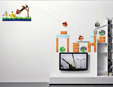 Wall Stickers Set Angry Birds Children & Gaming Room Livingroom Decor Decals