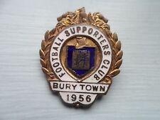 Bury Town Football Supporters Club Enamel Badge