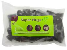 Viagrow Super Plugs 50 Organic Seedling Starter Propagation Root Clones Soil New