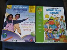 Activity Books Two ~Daily Summer Activities & Super Deluxe~ Second Grade