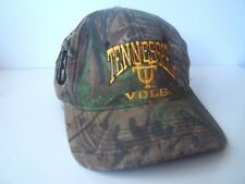 Tennesse Vols University Camo Hat Camouflage Snapback Baseball Cap Made USA