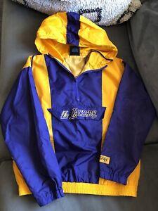 Los Angeles Lakers Size Small Pullover Windbreaker Kobe Bryant