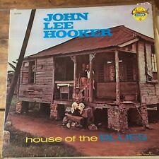 LOHN LEE HOOKER. HOUSE OF THE BLUES  LP Vinyl Record blues CHESS GCH8042 NM
