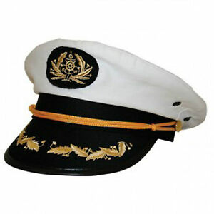 Sexy Sailor Captain Cap Hat For Navy Skipper Costume Accessories - Bulk Sale