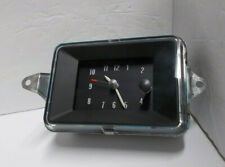 1971 1972 1973 71 72 73 Cadillac Clock Beautiful Serviced Tested and Working.