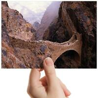 "Yemen Bridge Sighs Shaharah Small Photograph 6"" x 4"" Art Print Photo Gift #8907"