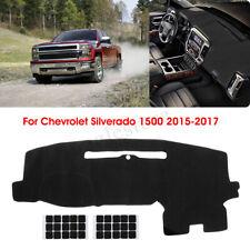 Dashboard Cover Dashmat Dash Mat Protector For Chevy Silverado 1500 2015-2017 US
